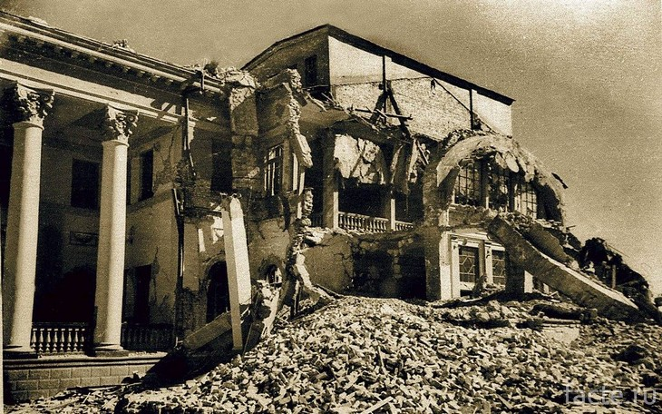 После землятрясения