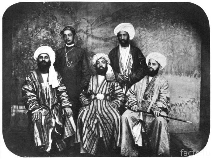 Знатные туркмены
