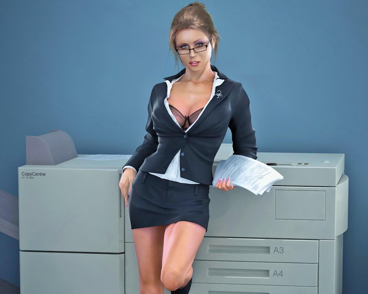 фото жены на работе - 12