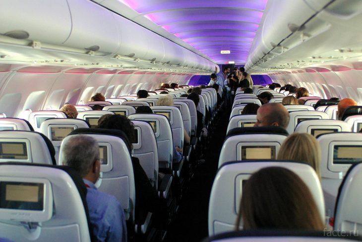 полёт в самолёте