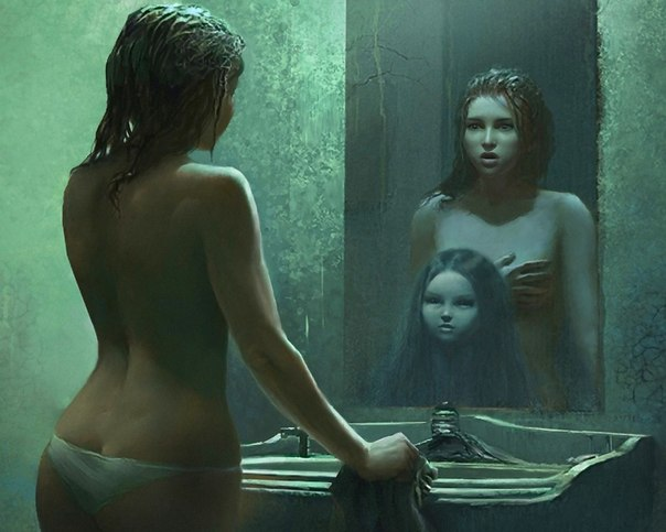 Почему нельзя смотреть в зеркало ночью?
