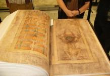 """Кодекс Гигас или """"Библия дьявола"""""""