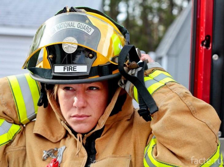 Пожарный из Америки