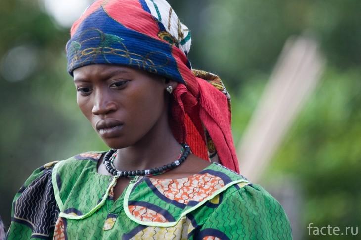 Женщина из Конго