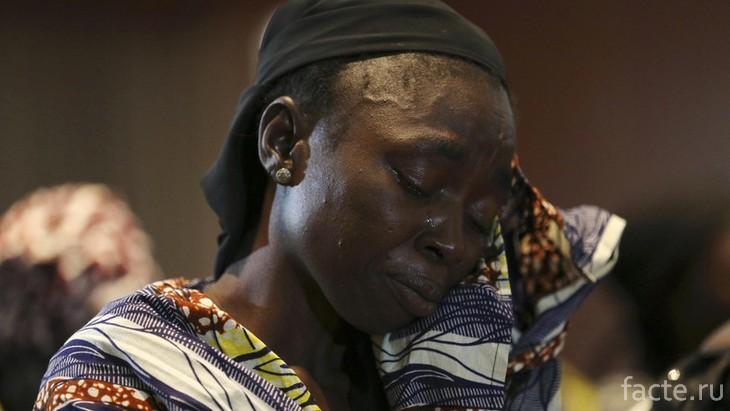 Женщина из Нигерии