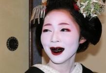 Почему в Японии ежедневно чернили зубы на протяжении множества веков?