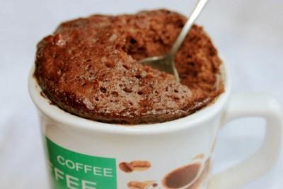 шоколадный-кекс-в-кружке