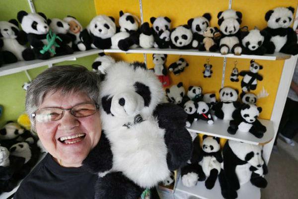 коллекция панд