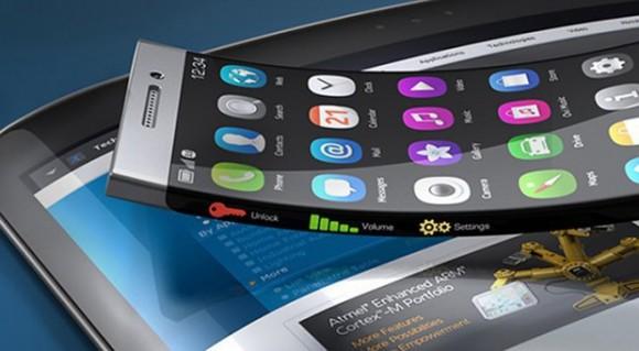 телефон с гнущимся экраном