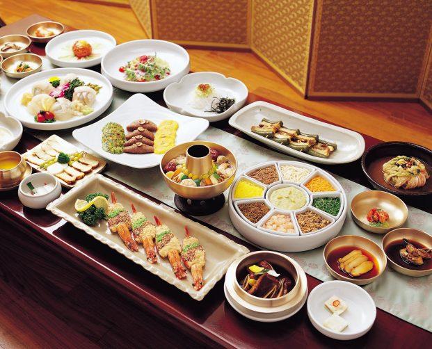Корейский обед