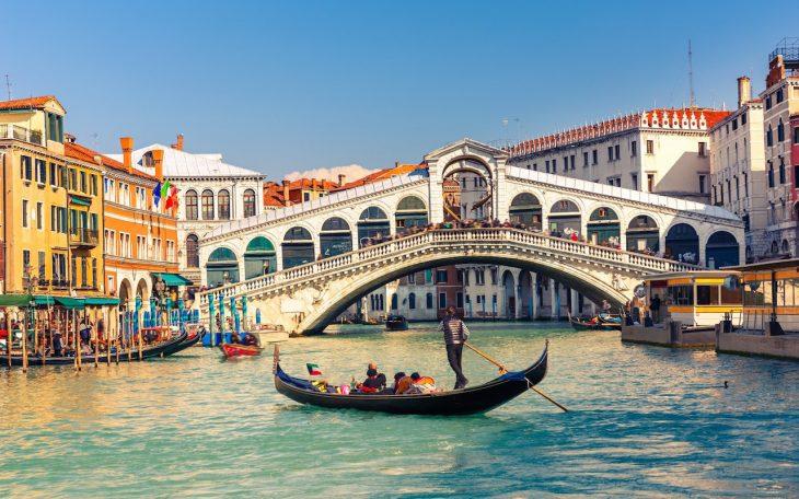 Мост Риальто Венеция