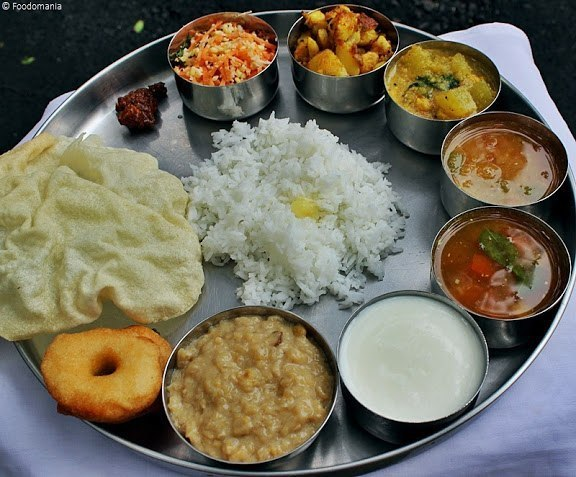 индийский ланч