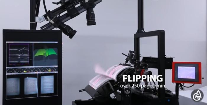 Сканер с автоперелистыванием