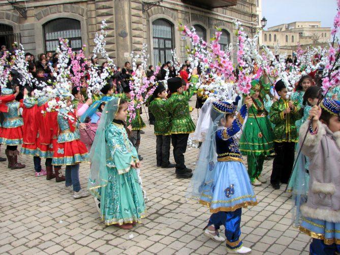 Навруз в Баку