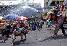 Сонгкран Таиланд новогодние традиции
