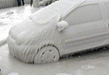 снег на юге Европы Аномальная погода