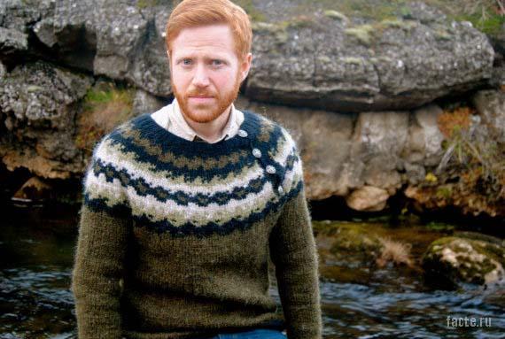 Исландец в свиторе