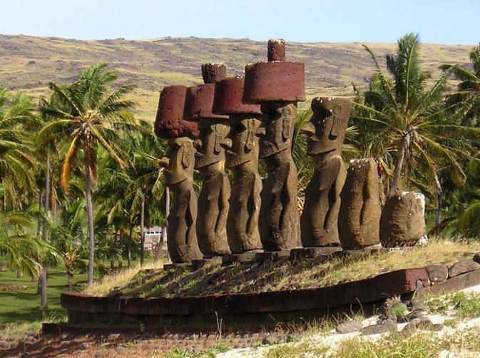 Остров Пасхи - Моаи