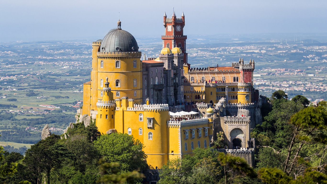 Португалия дворец Пена