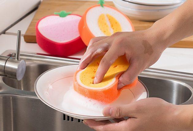 Губки для посуды