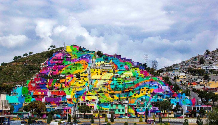Трущобы Палмитас Мехико