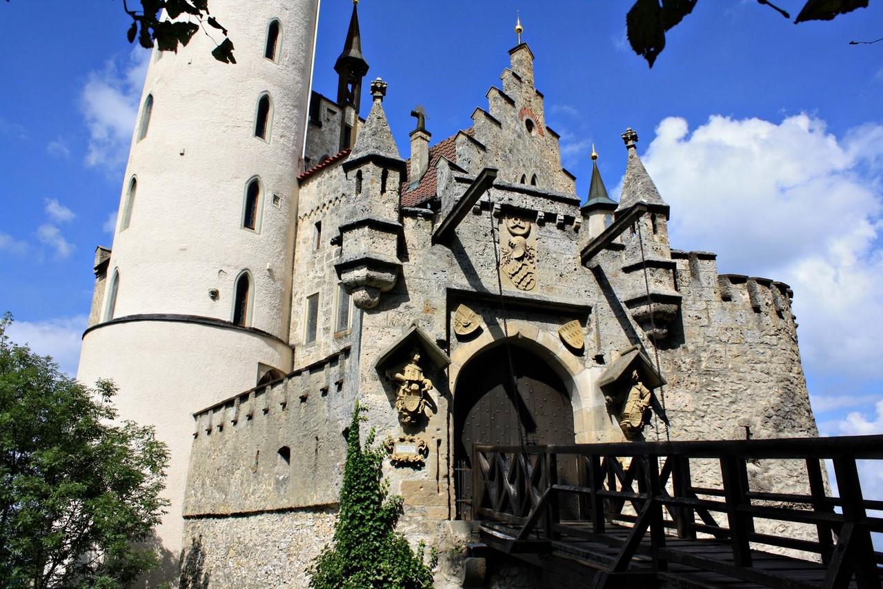 Германия замок Лихтенштейн