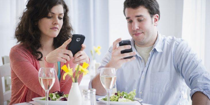 Зависимость от телефона