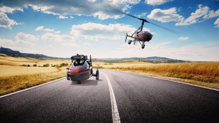 PAL-V-Liberty аэромобиль