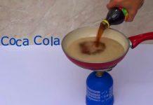 Эксперименты с кока-колой