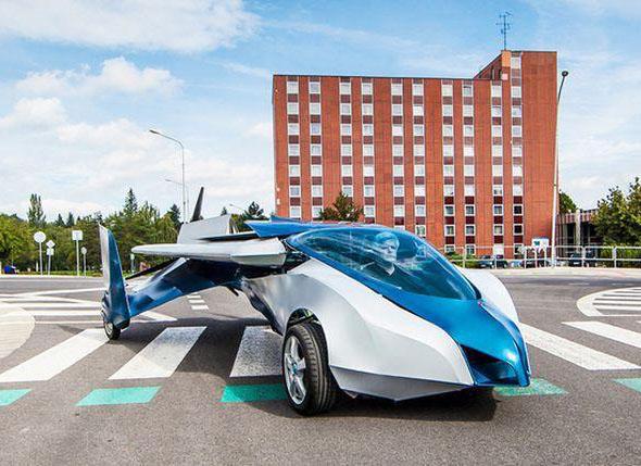 Летающие автомобили – это уже реальность
