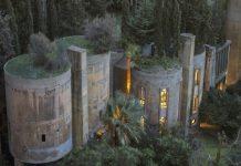 Необычный дом цементный завод