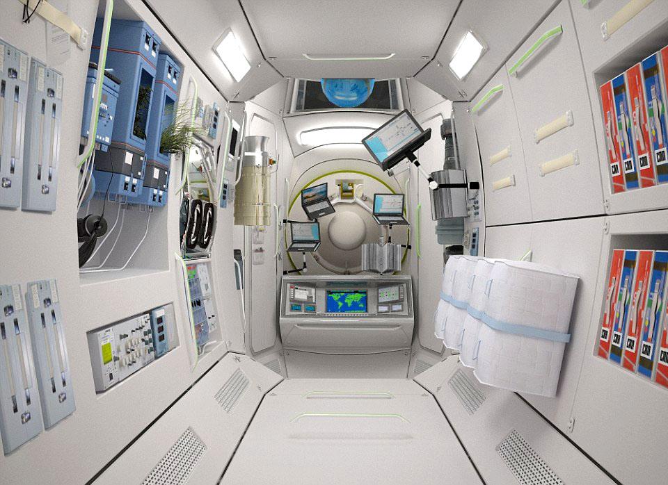 Космический туризм: гостиницы в космосе