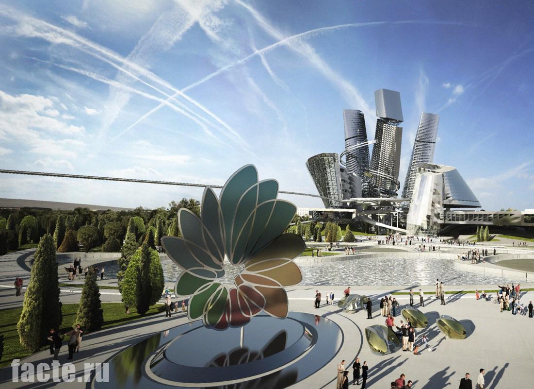 Футуристические города будущего, строящиеся сегодня