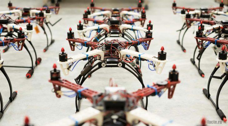 роевые дроны