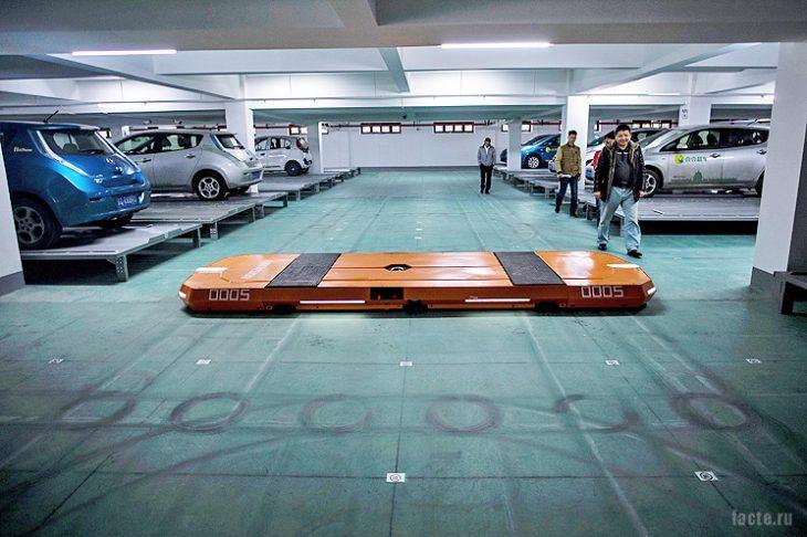 R&D Hikvision умная парковка