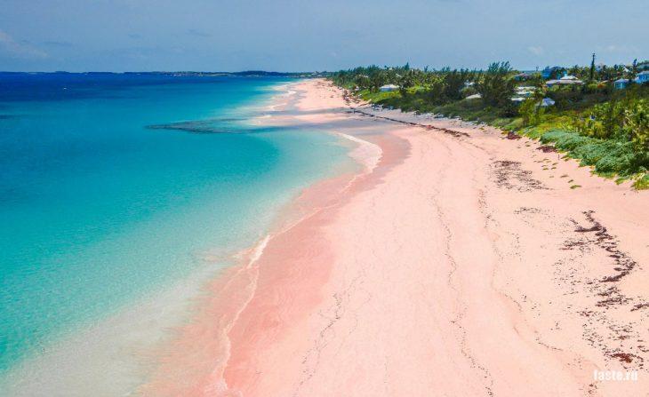 Багамы, о. Харбор, Пинк Сэндс Бич