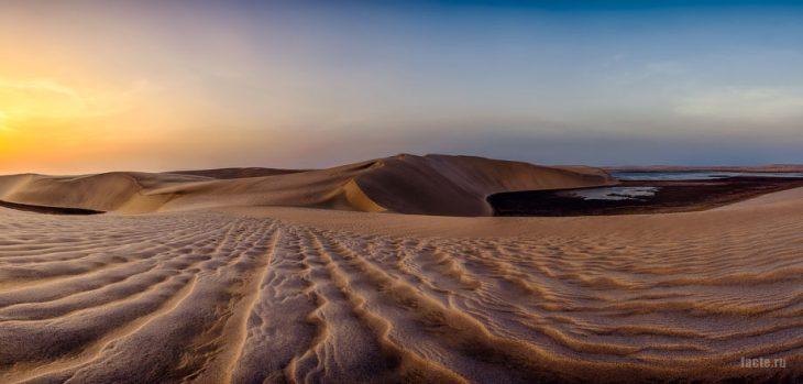 пустыня государства Катар