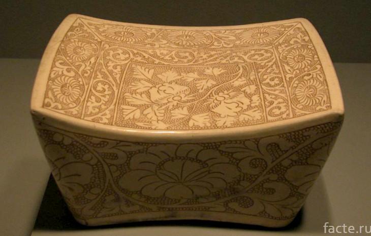 Подушка из Древнего Китая