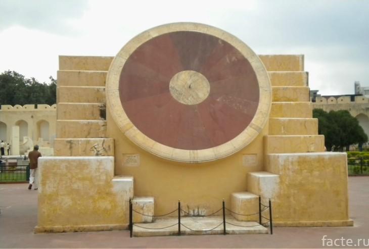 Самые большие солнечные часы