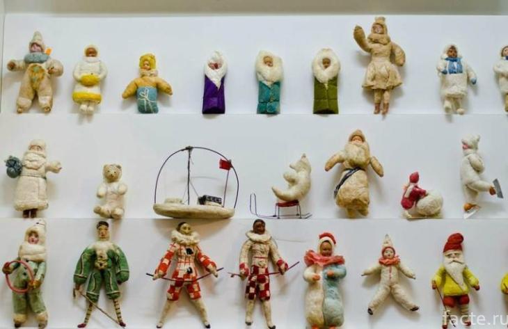 Старинные елочные игрушки