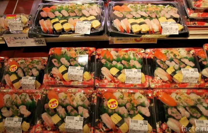 В японском магазине