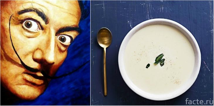 Дали и чесночный суп