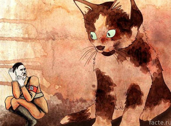 Гитлер и котенок