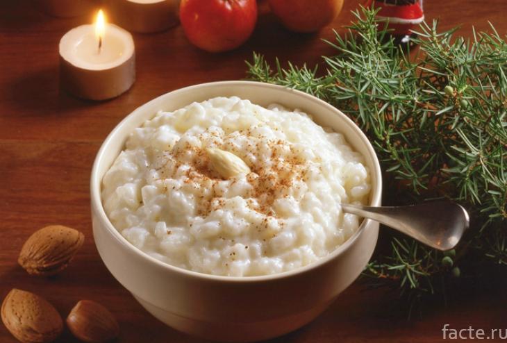 Новогодняя рисовая каша