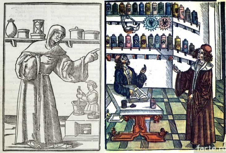 Парфюмерия в средневековье