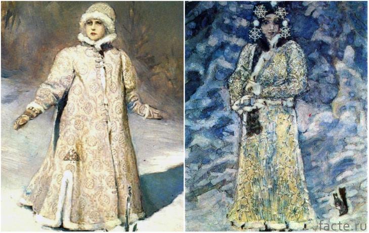 Снегурочки Васнецова и Врубеля