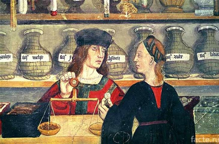 Средневековая аптека
