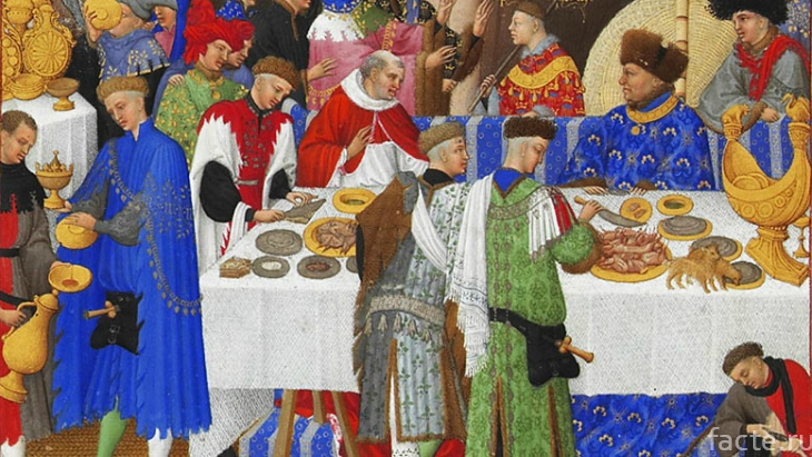 Средневековый пир