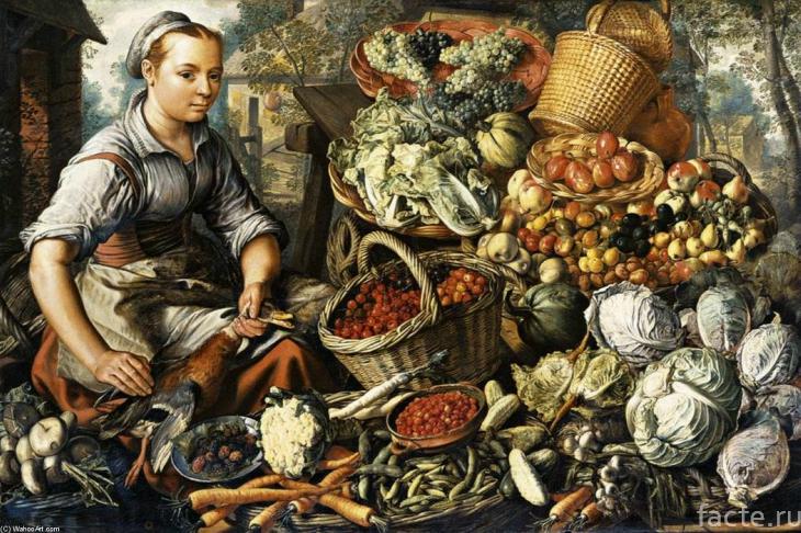 Средневековый урожай