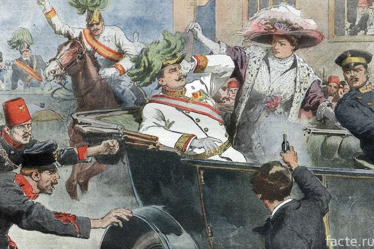 Убийство Франца Фердинанда и его жены